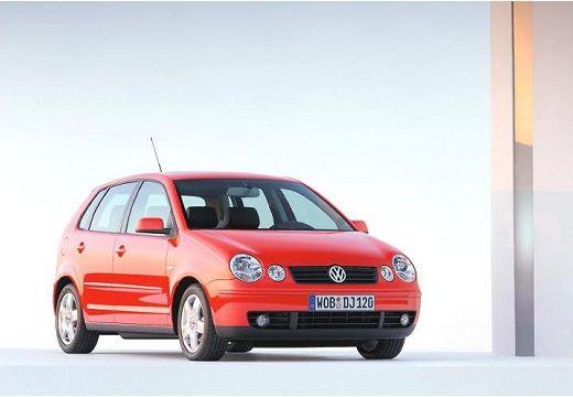 VOLKSWAGEN Polo IV I hatchback czerwony jasny przedni prawy