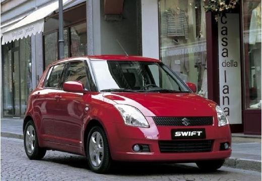 SUZUKI Swift I hatchback czerwony jasny przedni prawy