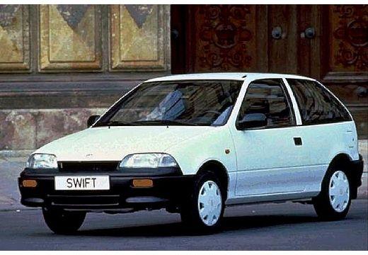 SUZUKI Swift II hatchback biały przedni lewy