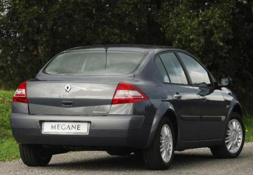 RENAULT Megane II II sedan silver grey tylny prawy