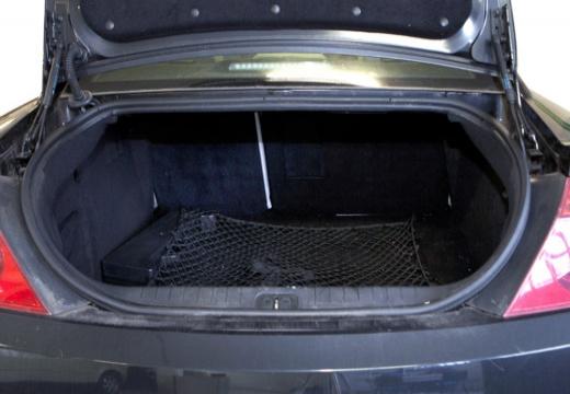 PEUGEOT 407 coupe przestrzeń załadunkowa