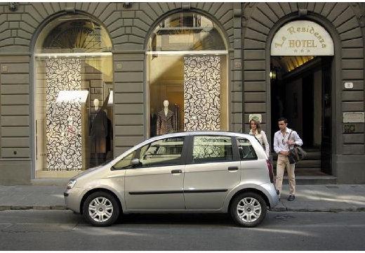 FIAT Idea I kombi silver grey boczny lewy