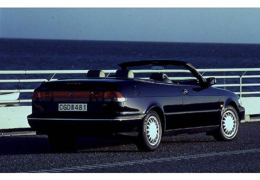 SAAB 900 Cabriolet kabriolet tylny prawy