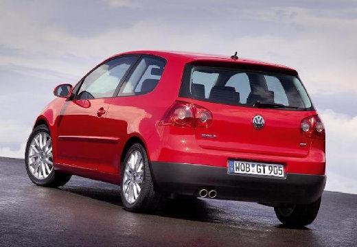 VOLKSWAGEN Golf V hatchback czerwony jasny tylny lewy