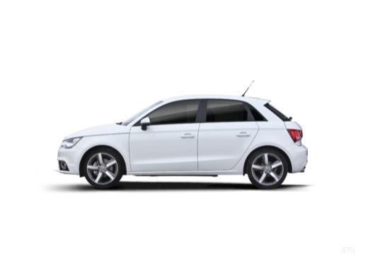 AUDI A1 Sportback I hatchback boczny lewy