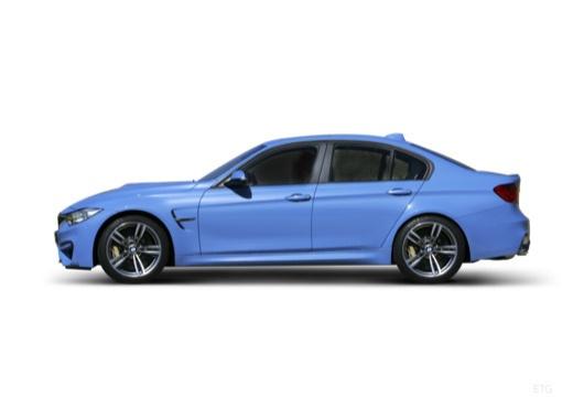 BMW Seria 3 F30 sedan boczny lewy