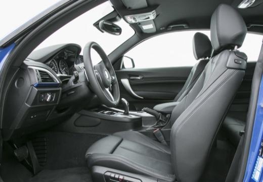 BMW Seria 1 F21 II hatchback wnętrze
