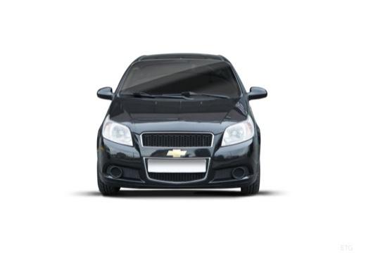 CHEVROLET Aveo II hatchback czarny przedni
