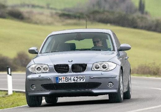 BMW Seria 1 E87 I hatchback silver grey przedni lewy