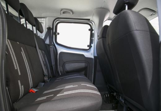 FIAT Fiorino kombi silver grey wnętrze