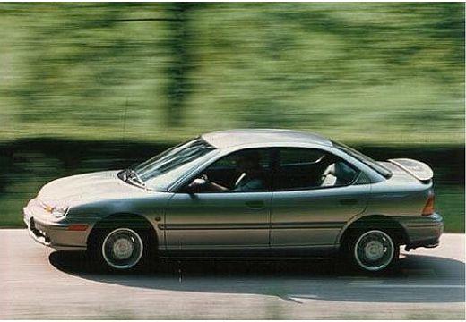 DODGE Neon sedan silver grey boczny lewy