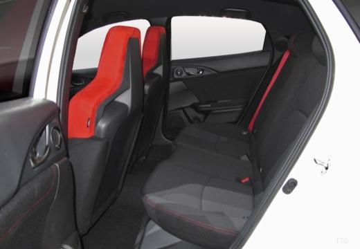 HONDA Civic X hatchback wnętrze