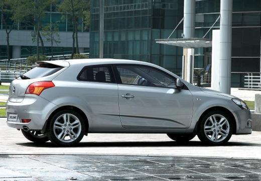 KIA Ceed Proceed II hatchback silver grey boczny prawy