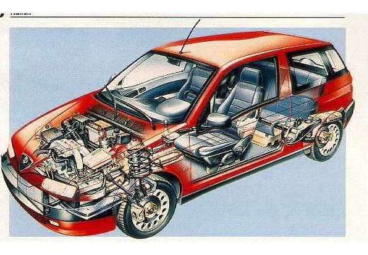 ALFA ROMEO 145 1.4 TSpark 16v Hatchback II 103KM (benzyna)