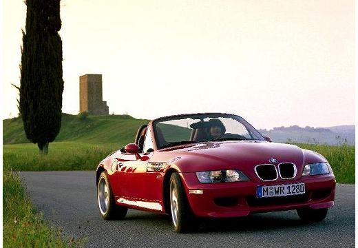 BMW Z3 roadster czerwony jasny przedni prawy