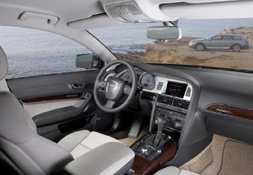 AUDI A6 Allroad kombi silver grey tablica rozdzielcza