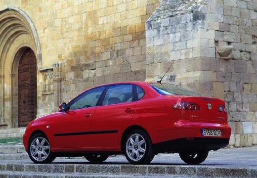 SEAT Cordoba III sedan czerwony jasny tylny lewy