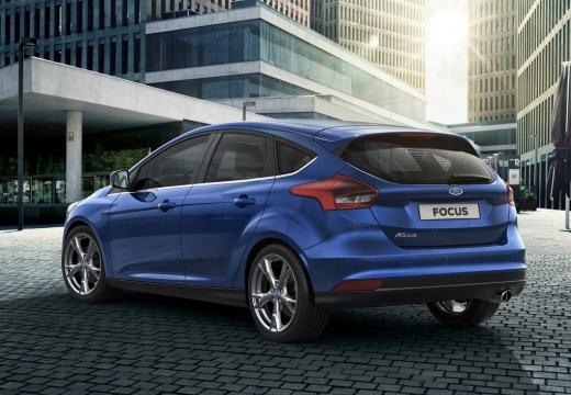 FORD Focus VI hatchback niebieski jasny tylny lewy