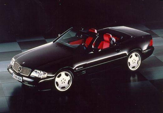 MERCEDES-BENZ Klasa SL 300-600SL R129 kabriolet czarny przedni lewy