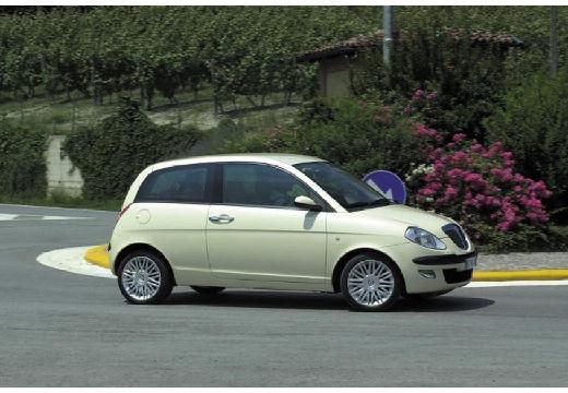 LANCIA Ypsilon I hatchback beige przedni prawy