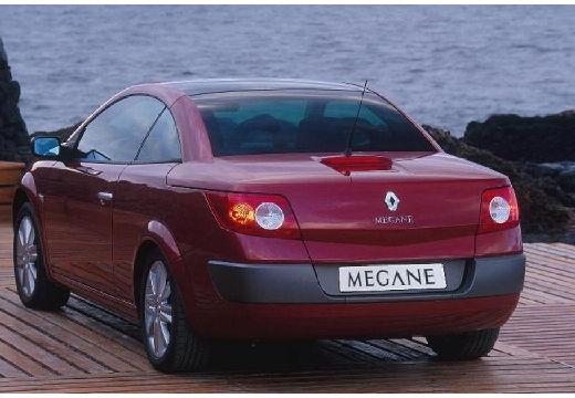 RENAULT Megane CC kabriolet bordeaux (czerwony ciemny) tylny lewy