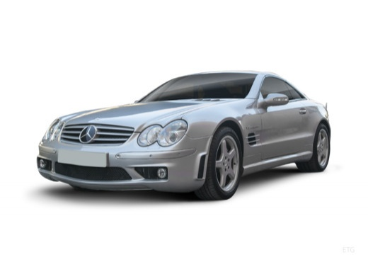 MERCEDES-BENZ Klasa SL roadster przedni lewy