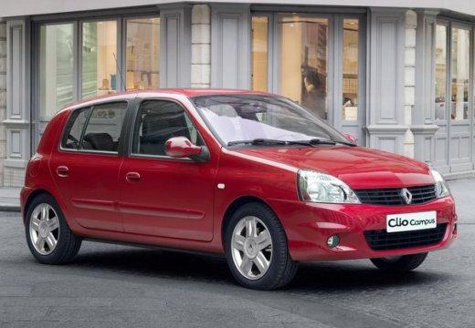 RENAULT Clio hatchback czerwony jasny przedni prawy