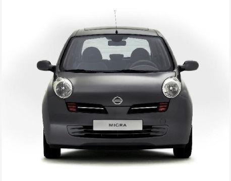 NISSAN Micra V hatchback szary ciemny przedni