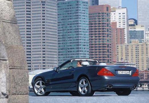 MERCEDES-BENZ Klasa SL SL 230 I roadster czarny tylny lewy