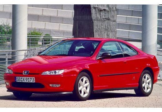 PEUGEOT 406 II coupe czerwony jasny przedni lewy