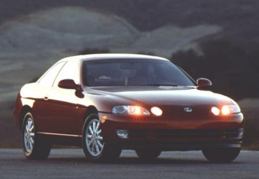 LEXUS SC coupe brązowy przedni prawy