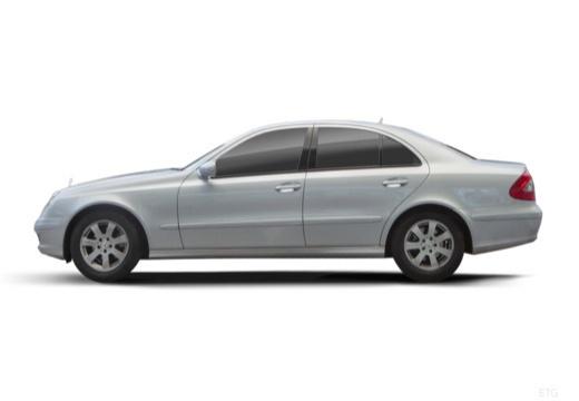 MERCEDES-BENZ Klasa E W 211 II sedan boczny lewy