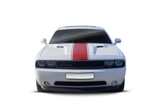 DODGE Challenger coupe biały przedni