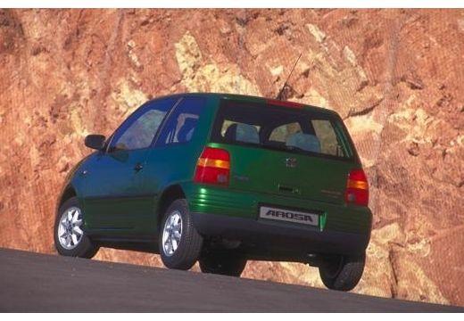SEAT Arosa I hatchback zielony tylny lewy