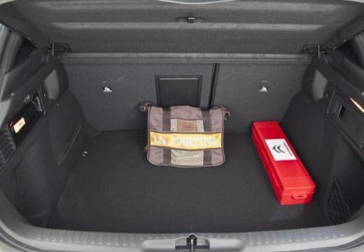 CITROEN DS4 I hatchback szary ciemny przestrzeń załadunkowa