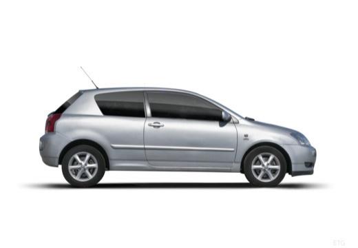 Toyota Corolla VI hatchback boczny prawy