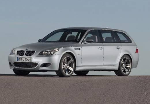 BMW Seria 5 Touring E61 II kombi silver grey przedni lewy