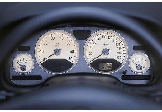 OPEL Astra coupe tablica rozdzielcza