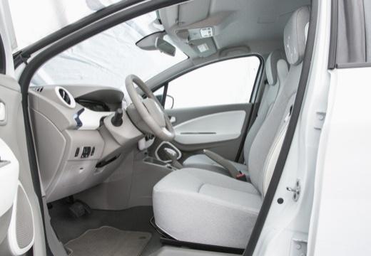 RENAULT ZOE hatchback wnętrze
