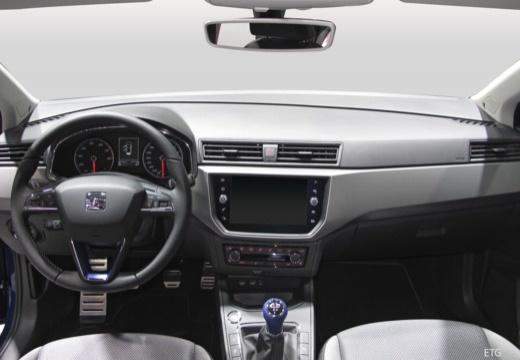 SEAT Ibiza VIII hatchback tablica rozdzielcza
