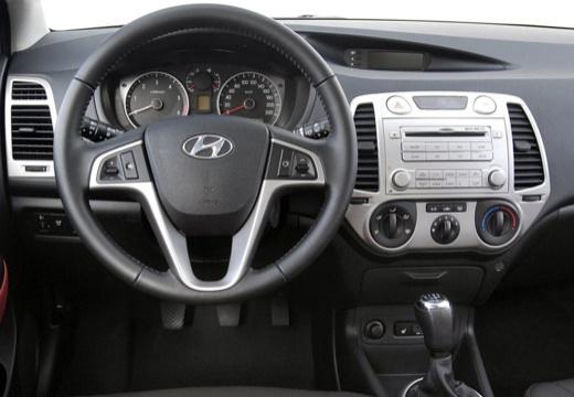 HYUNDAI i20 I hatchback szary ciemny tablica rozdzielcza