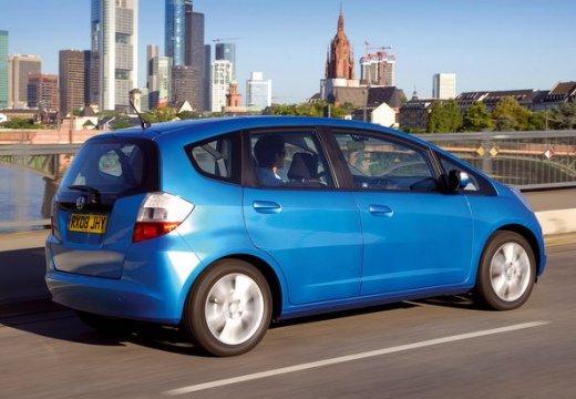 HONDA Jazz II hatchback niebieski jasny tylny prawy