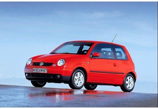 VOLKSWAGEN Lupo hatchback czerwony jasny przedni lewy