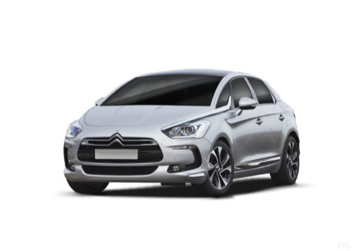 CITROEN DS5 hatchback silver grey