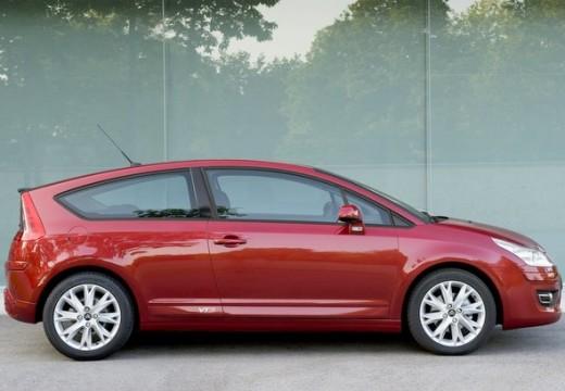 CITROEN C4 II hatchback czerwony jasny boczny prawy