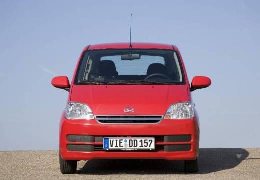 DAIHATSU Cuore hatchback czerwony jasny przedni