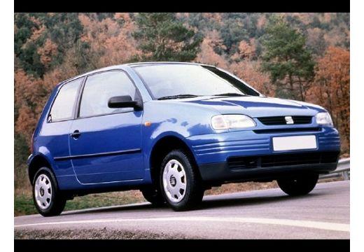 SEAT Arosa I hatchback niebieski jasny przedni lewy