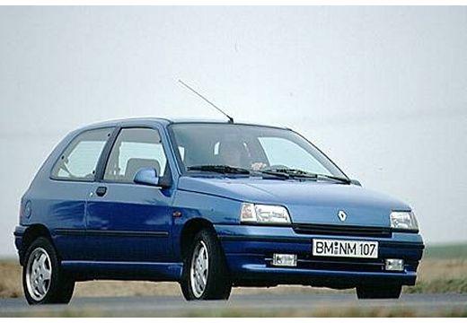 RENAULT Clio I hatchback niebieski jasny przedni prawy