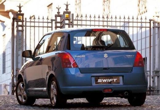 SUZUKI Swift I hatchback niebieski jasny tylny lewy