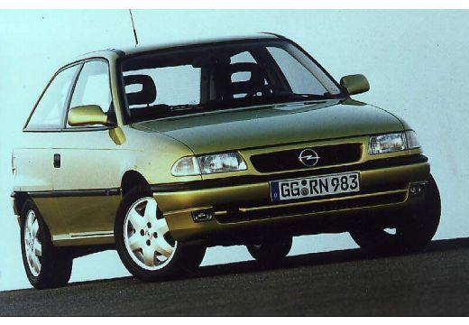 OPEL Astra 1.7 TDS Hatchback II 82KM (diesel)